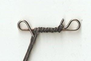no knot umwickeln
