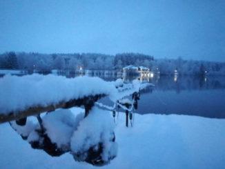 Welsangeln im Winter